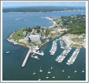 Avery Point: an Aerial View
